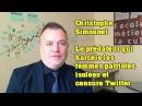 Christophe Simonnet Le prédateur de femmes isolées soutenu par la LICRA qui censure Twitter