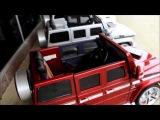 Детский электромобиль Mercedes Benz G55 Lux с пультом