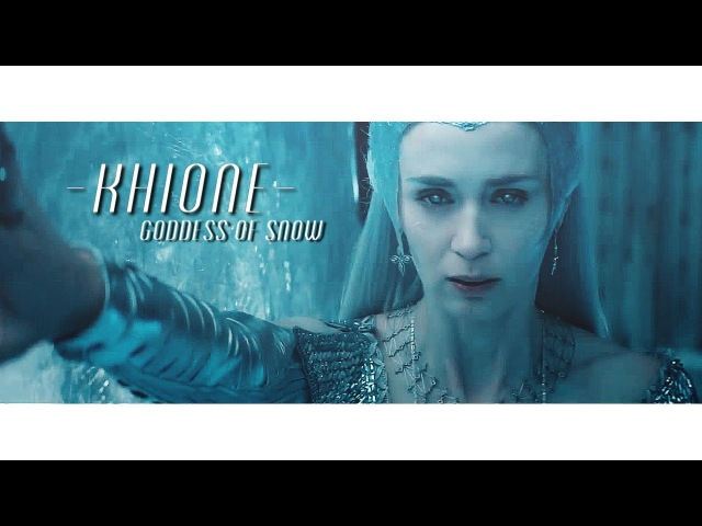 Freeze again The goddess of snow Khione