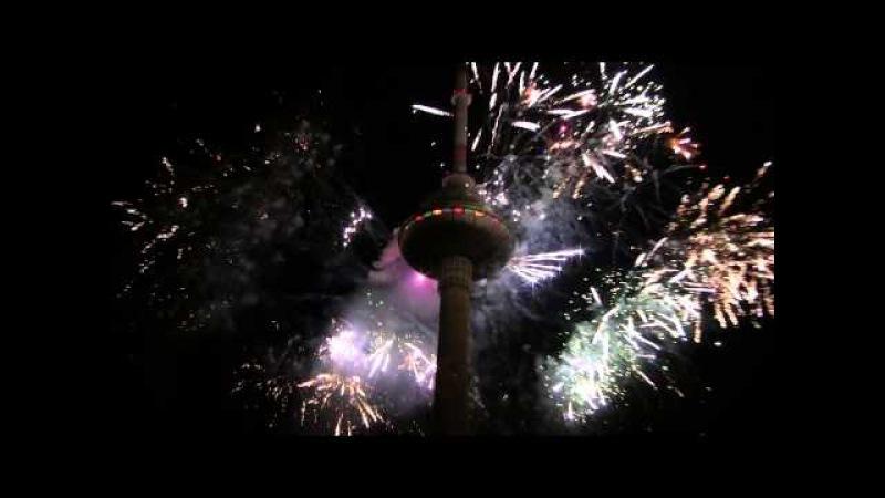 Vilnius TV Bokstas Naujieji Metai Tower FireShow 2015