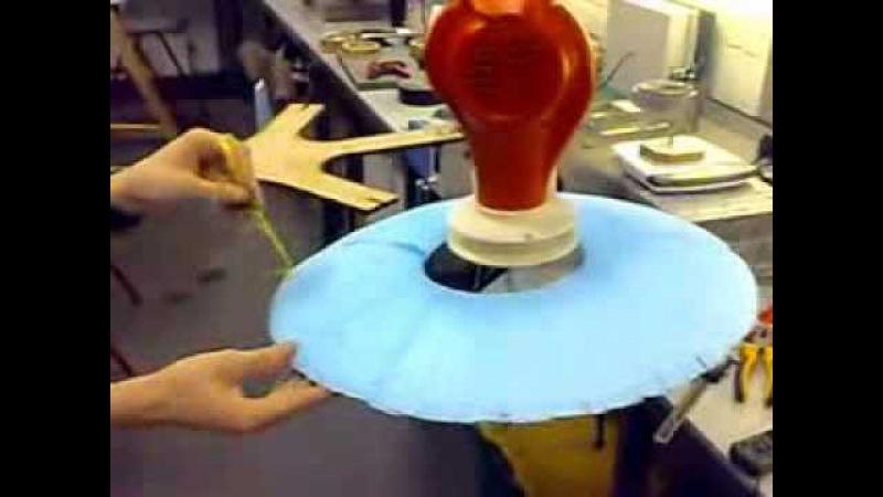Concept demo Coanda Effect UAV