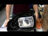 Биксеноновые линзы в фары. Как улучшить качество света фар. Часть 2
