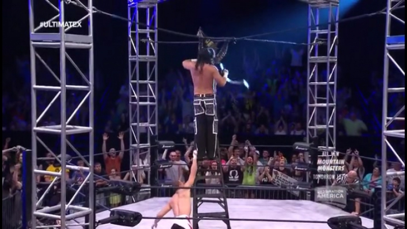 2015.04.17 TNA Impact Wrestling - Ultimate X Tag Team Title Match ✔