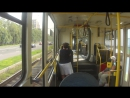 Еду на трамвае Tatra KT3R от Медведково до Метро Бабушкинская