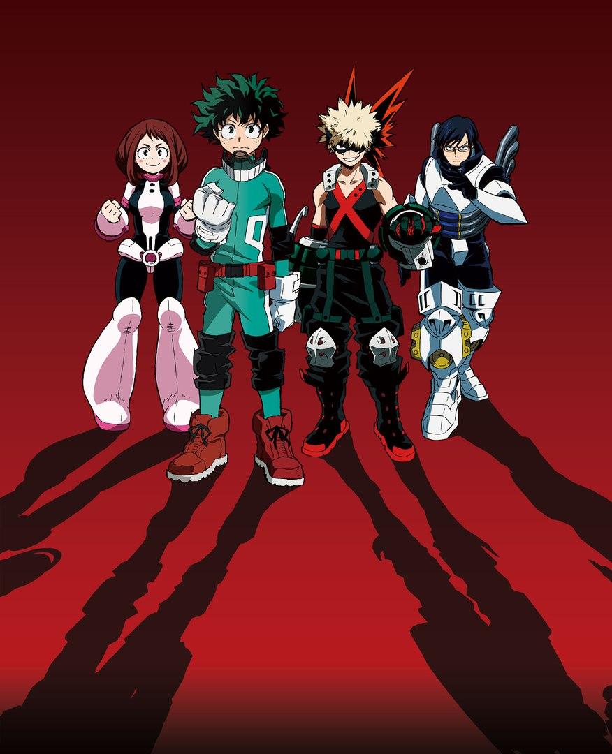 Оф. арт Моя геройская академия   My Hero Academia   Boku no Hero Academia.