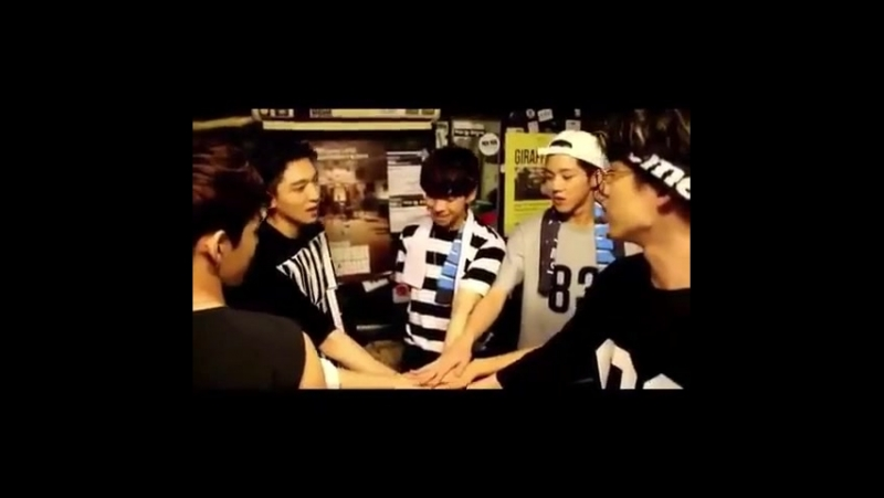 Maknae hasn't been used to group's hwaiting.