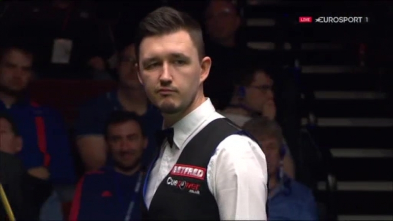Snooker. World Championship 2016. M. Selby - K. Wilson (3) and J. Higgins - A. McManus (2). QF.