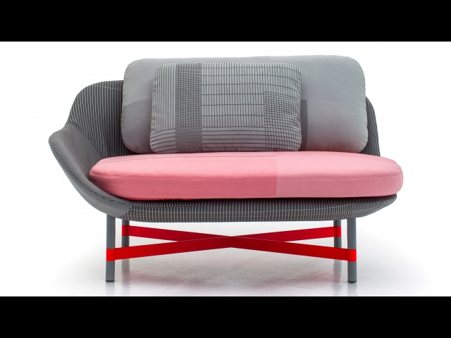 Scholten Baijings' Ottoman daybed for Moroso started with the textile
