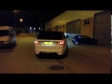 Range Rover Sport . Шикарный звук !