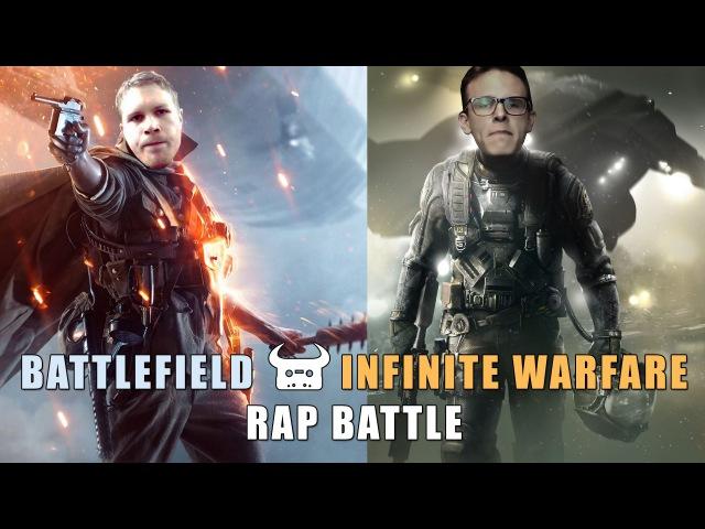 BATTLEFIELD 1 vs INFINITE WARFARE   Dan Bull vs Idubbbz rap battle