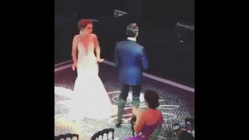 Неслихан Атагуль звезда сериала чёрная любовь, и её свадебный танец с мужем.