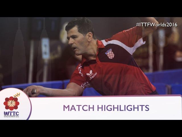 2016 World Championships Highlights: Joo Saehyuk vs Zoran Primorac