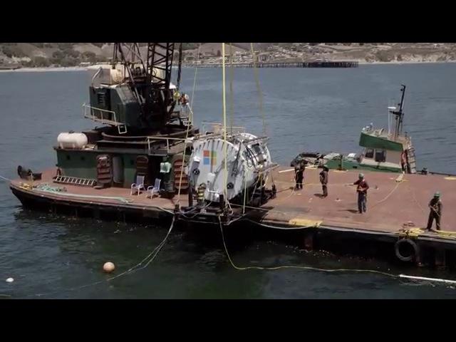 Microsoft's underwater datacenter: Project Natick