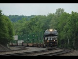 Railfanning The NS Pittsburgh Line, Memorial Day Weekend Part 3. Feat. NS Penn Central Heritage Unit