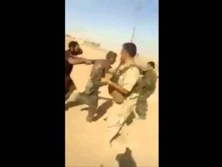 Сирия. Пленные боевики ИГИЛ, захваченные курдами