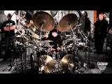 Terry Bozzio's All Cymbal Drum Set
