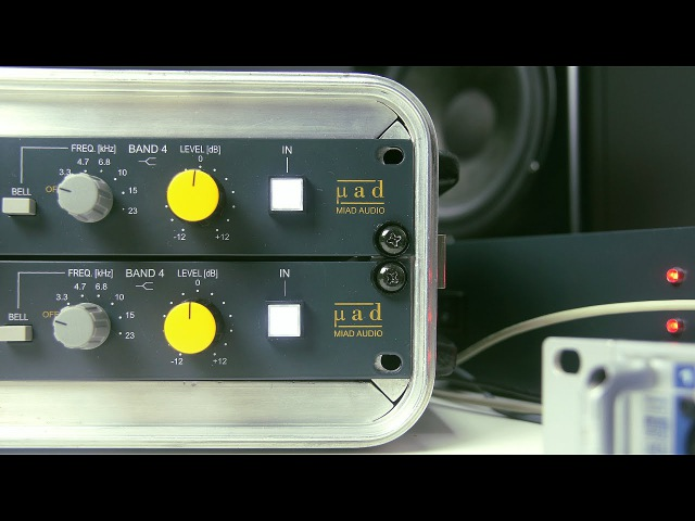 Miad Audio LCPQ4040 hardware jako insert w DAW