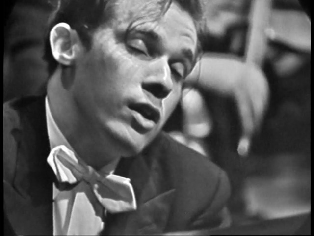 Glenn Goulds U.S. Television Debut Bernstein Conducting Bachs Keyboard Concerto No. 1 in D minor
