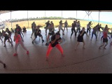 Jack garret dance camp 2016 - Afro choreography (inspired Donga Girls)