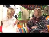 Adele talks to Jo Whiley before her Glastonbury set, BBC Four (2016)