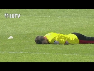 Чемпионшип 2012/13, 46 тур. Уотфорд 1:2 Лидс. Гол Росса Маккормака