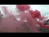 Smoke Fountain Смок Фонтан красный 40 сек