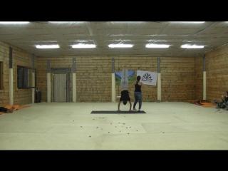 II Фестиваль Акро-йоги на Алтае. Lottery Flow. Алёна Муниц (Хабаровск) и Кузьма Салосин (Новосибирск)