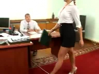 Сексуальная секретарша - Уволить !
