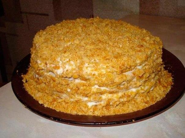 Торт медовый с фотографиями