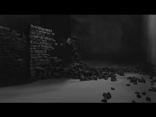 Разрушение стены. RayFire+FumeFx