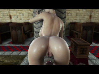 Secret of beauty 3 [animation, mult, stockings, big ass, big tits, creampie, huge cock]