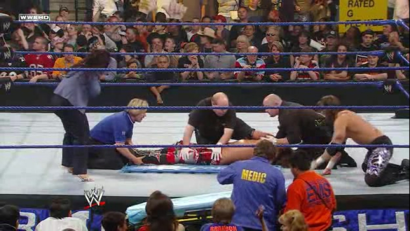 Wrestling Online: 19.Edge vs the Undertaker (WWE.Backlash.2008)