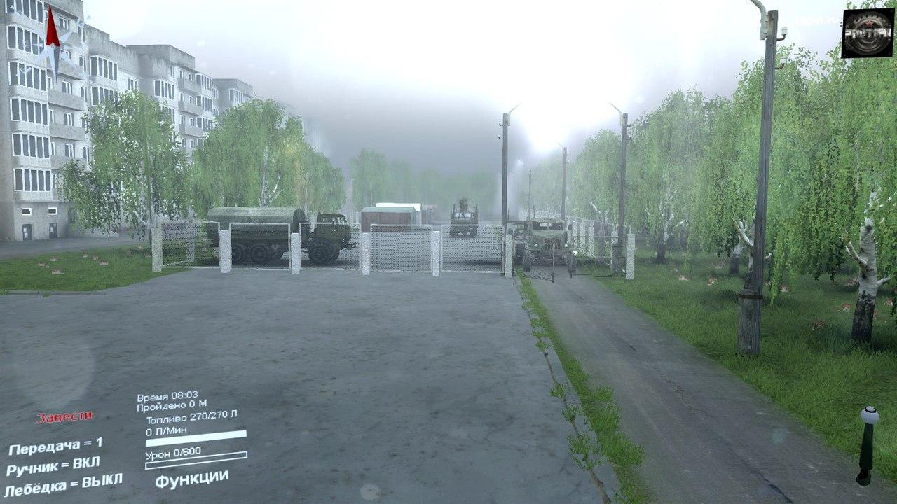 "Карта ""Далекий край"" для SpinTires 03.03.16 для Spintires - Скриншот 1"