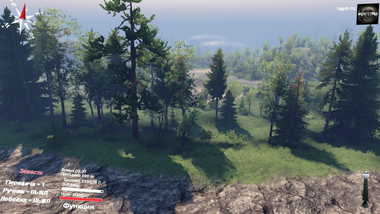 "Карта ""Далекий край"" для SpinTires 03.03.16 для Spintires - Скриншот 3"