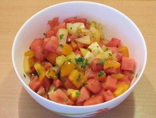 Салат из арбуза и помидоров UGW_MxpIv7A