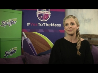 """Swiffer and Sarah Michelle Gellar Encourage Parents to Say """"YES!"""" to the Mess"""