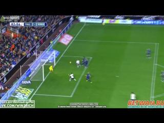 Валенсия - Реал Мадрид, 2-2, гол Алькасера, голевая Родриго