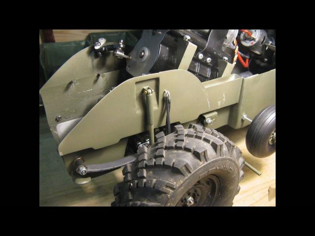 BRDM-2 RC 110 FULL METAL BUILD (Part 2 of 3)