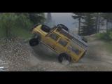SpinTires Land Rover 110 Тапку в Пол.. МОД (Тест -Драйв)