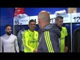 Видео со знакомства Зидана с первым составом Реал Мадрид.