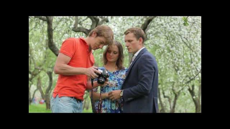 Фотосессия в Коломенском в яблоневых садах