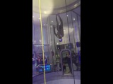 Лезгинка в аэротрубе (Леонид Волков - чемпион мира 2016 по танцам в аэротрубе)