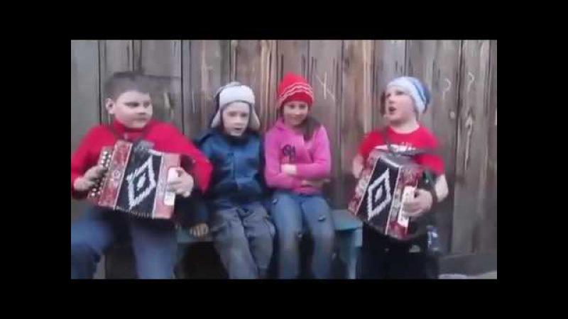 Катюша Зажигают парни на гармошках