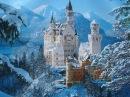 CОКРОВИЩЕ АЛЬП замок Нойшванштайн Schloss Neuschwanstein Neuschwanstein Castle