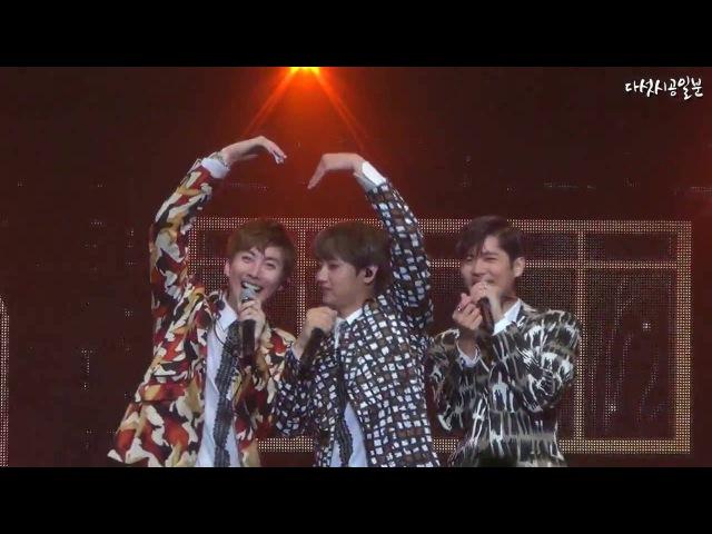 Making a lover ❤160813 Double S 301 Ancore Concert [U R MAN IS BACK] :: 애인만들기 - 허영생, 김규종, 김형준