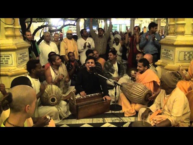 Shyamananda prabhu 24 Hours Kirtan Evening Shift