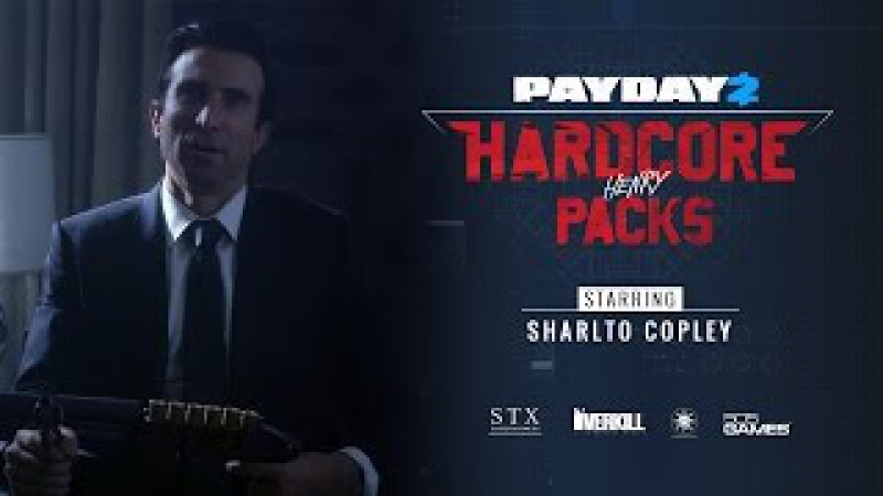 PAYDAY 2 Hardcore Henry Packs Trailer