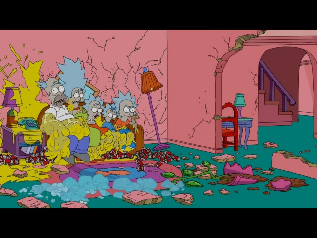 THE SIMPSONS Couch Gag from 'Mathlete's Feat' ANIMATION on FOX