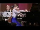 Varvara Kutuzova 11yo Mozart Concerto17 parts II-III