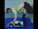 """NRK Sport on Instagram: """"Se @johaugtherese og Helt Ramm finne roen med par-yoga!🙏🏼😂 Gå inn på NRK.no eller besøk FB-siden vår for å se innslaget👊🏼 tourdeski…"""""""